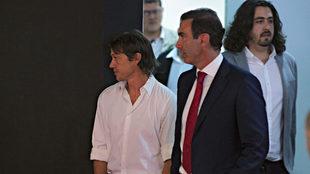 Matías Almeyda y Paco Gabriel.