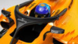 Así lucirá el halo del MCL33 en el GP de Australia con el patrocinio...