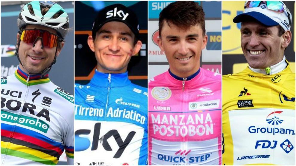 Sagan, Kwiatkowski, Alaphilippe y Demare, algunos de los favoritos.