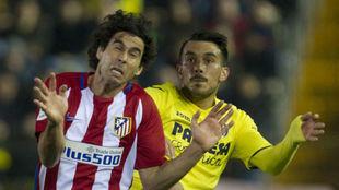 Tiago, en aquel partido contra el Villarreal.