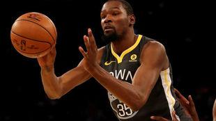 Kevin Durant, nueva baja en los Warriors