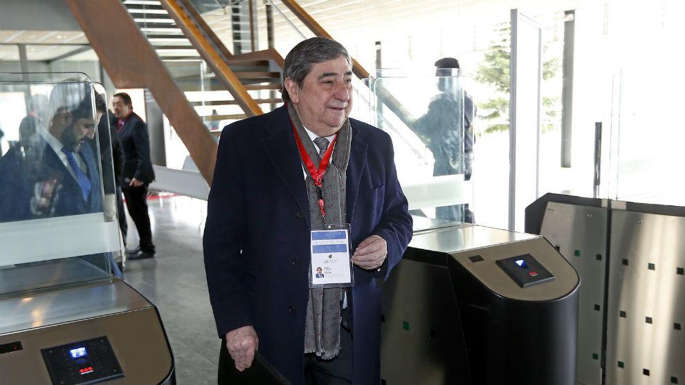 Lendoiro, expresidente del Deportivo