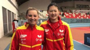 Galia Dvorak y Maria Xiao