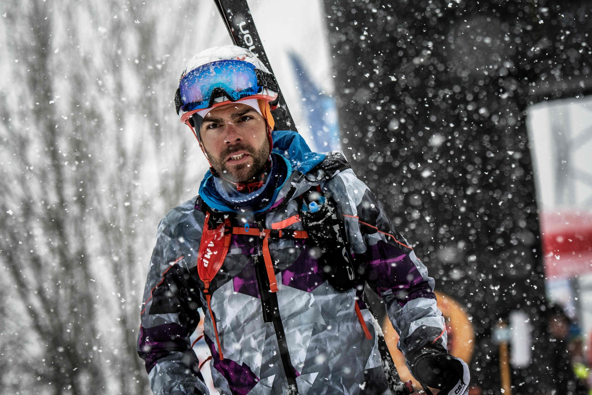 Jakob Herrmann, en la meta.