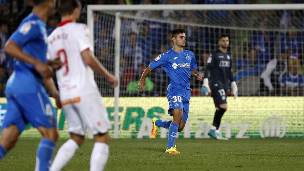 El debut de Hugo Duro en Copa ante el Alavés