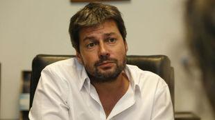 Matías Lammens, presidente de San Lorenzo