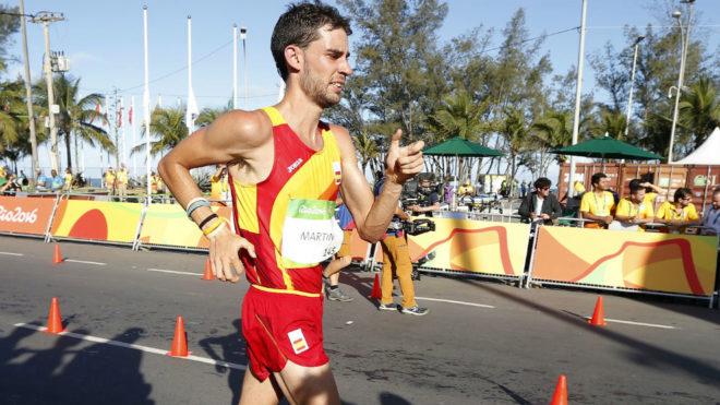 Álvaro Martín, durante los Juegos Olímpicos de Río