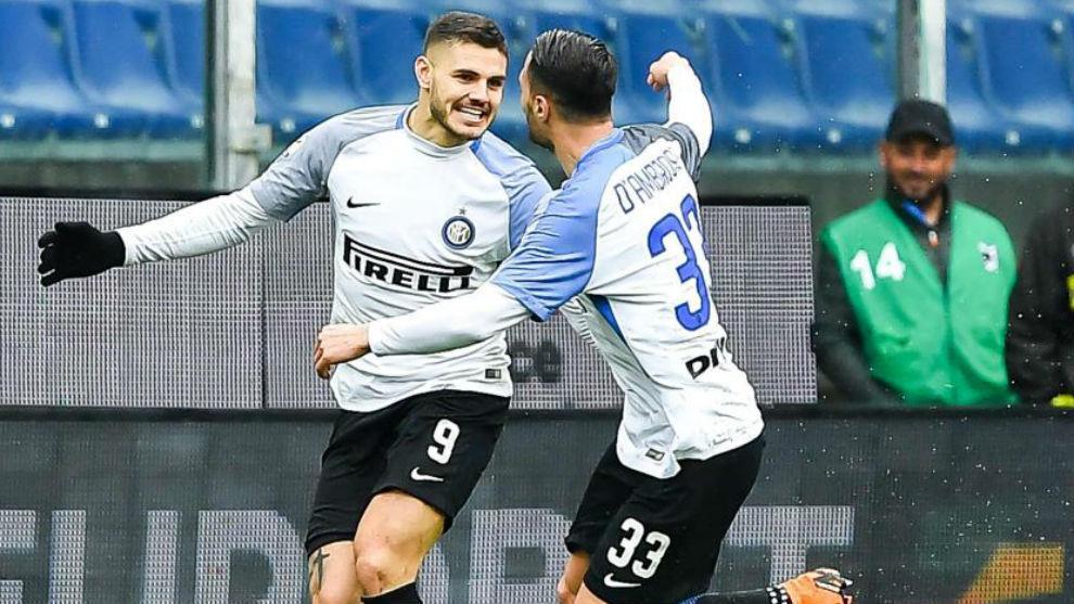 Serie A - Sampdoria 0-5 Inter Milan: Icardi inspired Inter thrash ...