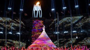 Ceremonia de clausura de los Juegos Paralímpicos de Pyeongchang