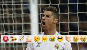 Cristiano Ronaldo celebra uno de sus goles al Girona