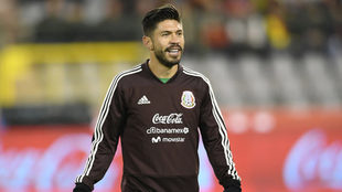Oribe Peralta busca subirse a la lista final para Rusia.