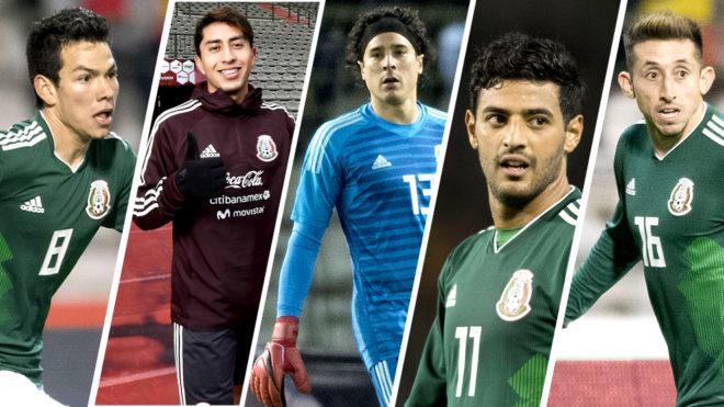 Selección MexicanaLos futbolistas mexicanos buscan un lugar en el Tri para  Rusia 2018 943739fd5d766