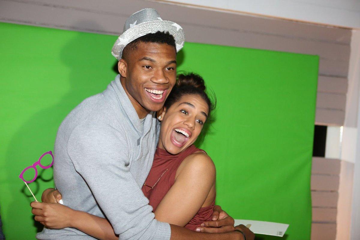 NBA: Giannis antetokounmpo (milwaukee bucks) y su novia ...