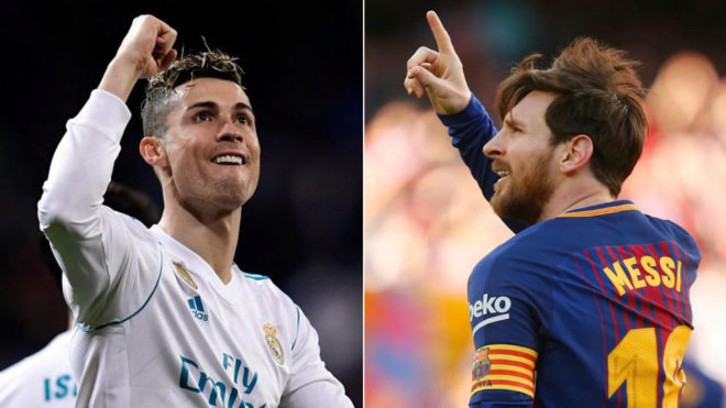 laliga the eternal cristiano ronaldo vs messi fight nine games and