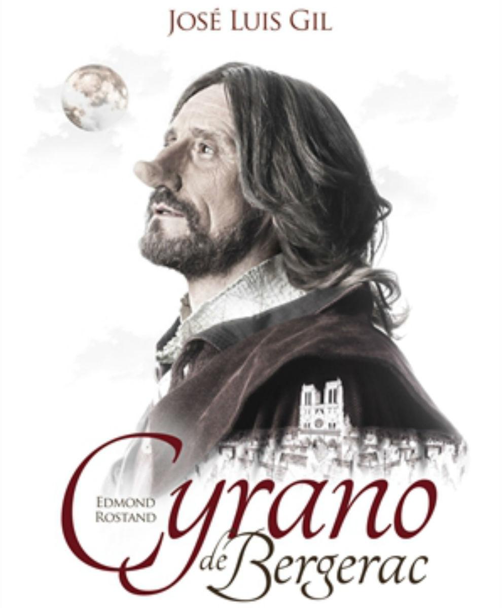 José Luis Gil protagoniza 'Cyrano de Begerac', la obra del clásico...