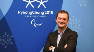 Andrew Parsons posa tras los Juegos Paralímpicos