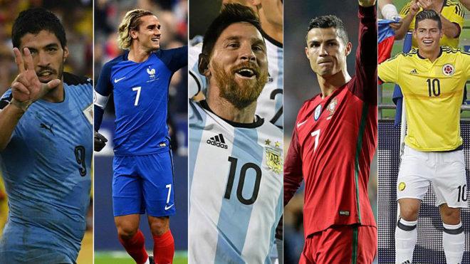 Los 4 principales candidatos al Balón de Oro 2019