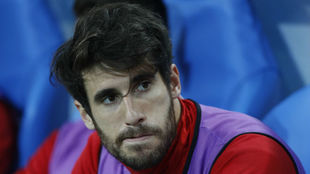 El jugador del Bayern Javi Martínez.