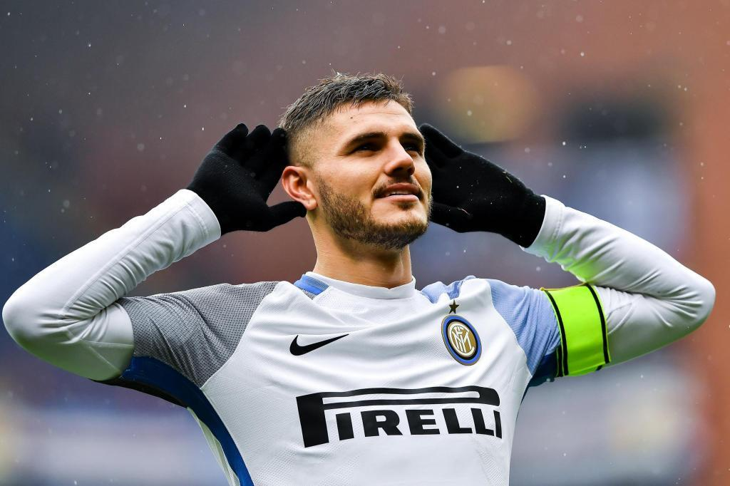 18. Mauro Icardi (Inter): From 40m to 95m euros (a 137 percent increase)