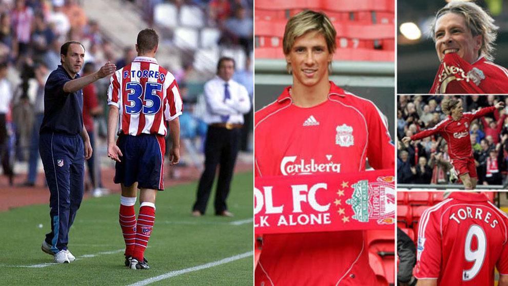 Atletico Madrid  Nine unforgettable moments in Fernando Torres ... 5227b52fc