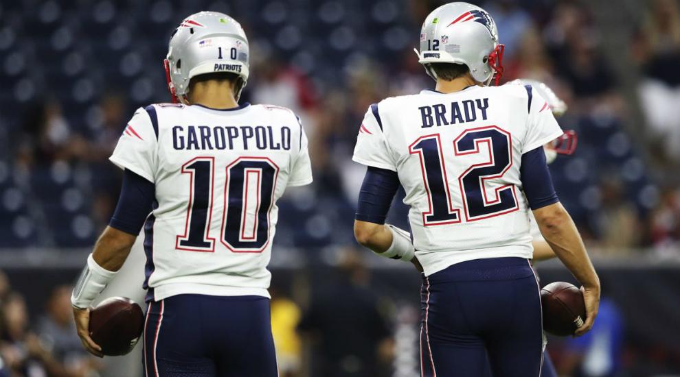 Jimmy Garoppolo ya cobra más que Tom Brady