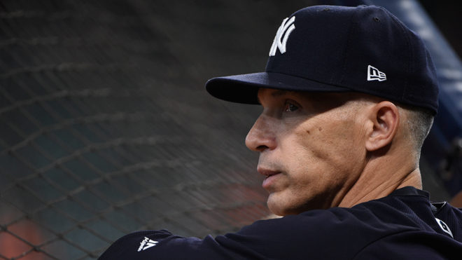 Coach de Yankees, Joe Girardi.