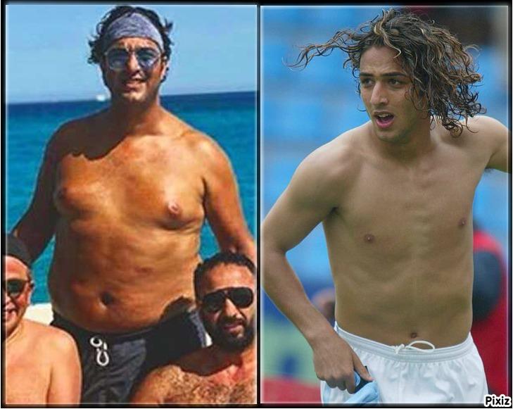 El cambio de figura del Mido ex futbolista al Mido futbolista en el...