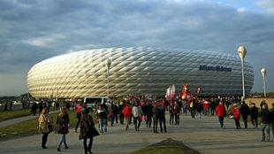 Imagen del estadio del Bayern.