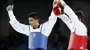 Joel González, en competición en los Juegos Olímpicos