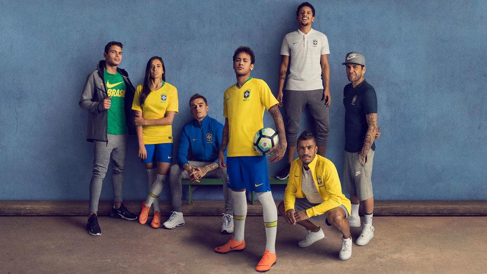 celebracion Sin alterar Línea del sitio  Mundial 2018 Rusia: Brasil presenta sus camisetas