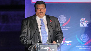 Mauricio Sulaimán, presidente del CMB