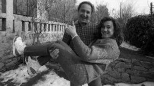 Paco y Blanca, en 1990