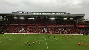 El estadio de Anfield