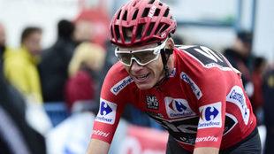 El ciclista Chris Froome, en carrera.