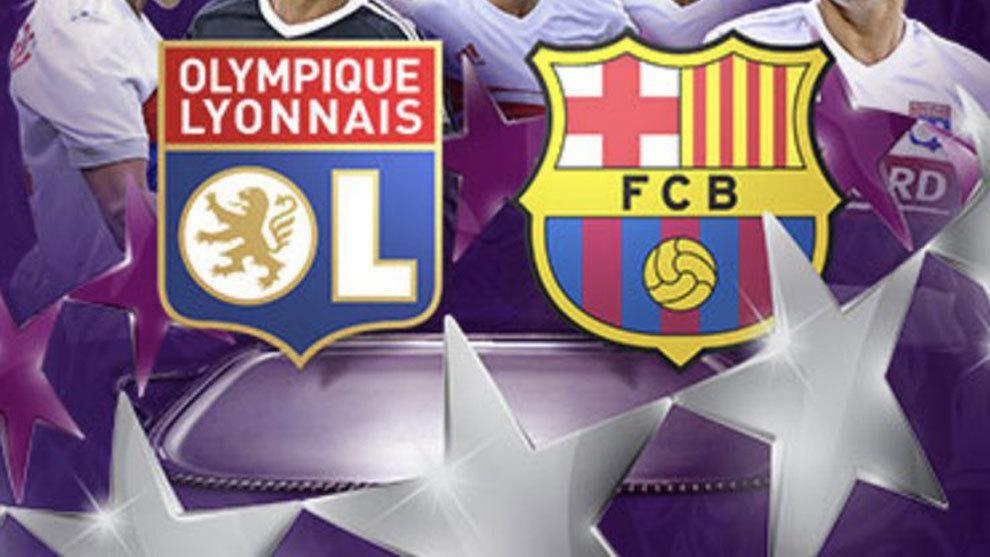 Fútbol Femenino: Lyon vs Barcelona en directo la ida de cuartos de ...