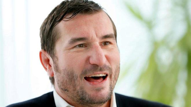 Alin Petrache, presidente de la Federación Rumana de Rugby