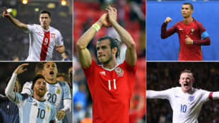 Bale joins Cristiano, Messi, Rooney ...