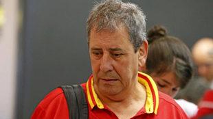 Ramón Cid, director técnico de la RFEA