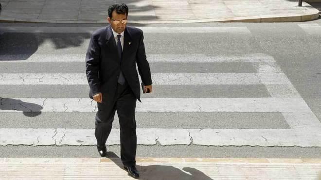 Al-Thani, presidente del Málaga.
