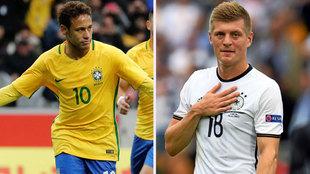 Ambas selecciones suman nueve mundiales en sus vitrinas.