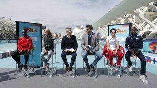 Presentación del Mundial de Medio Maratón de Valencia 2018.