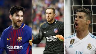 Solo el 'rey Messi' tiene asegurado el podio de LaLiga...