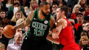 Marcus Morris, de nuevo el gran protagonista en los Boston Celtics