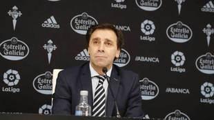 Felipe Miñambres, en un rueda de prensa.