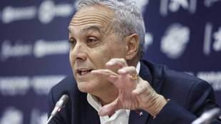 Mario Husillos, director deportivo del Málaga.