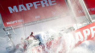 El MAPFRE, en la séptima etapa de la Volvo Ocean Race