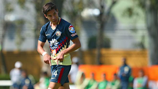 Resultado de imagen para club america Diego Lainez 2018