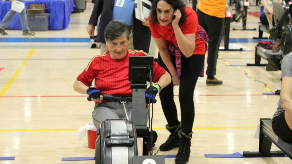 Pilar Elvira, en el Mundial de Alexandria del pasado mes de febrero