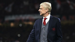 Wenger, técnico del Arsenal