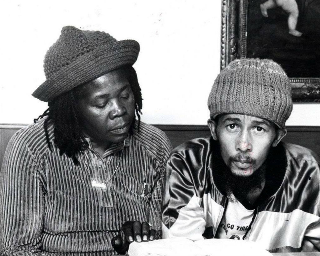 Bob Marley, 36 ans.  La dernière photo connue du musicien, qui ne pesait que 35 kilos à l'époque et qui est décédé d'un cancer - mélanome malin.